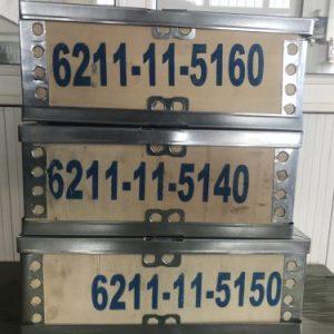 6211-11-5160 | Komatsu S6D140 Engine Exhaust Manifold | Most ...