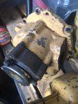 caterpıller 140g greyder şanzuman pompası transmisyon